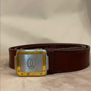 CARTIER Vintage Belt 100% Authentic